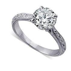 https://ariani-shop.com/2ct-14k-white-gold-forever-brilliant-moissanite-engraved-engagement-ring-26mm-wide 2CT 14K White Gold Forever Brilliant Moissanite Engraved Engagement Ring 2.6mm Wide