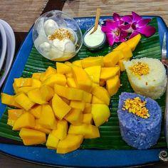 Mango Sticky Rice at Sawadee Thai Cuisine #sgeats #sgrestaurants #thaifoodsg @sawadeethai #ordinarypatrons