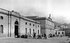 La Recova Vieja y el Teatro Guimerá, 1910, Santa Cruz de Tenerife