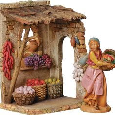 Catholic Gifts and Religious Supplies Store Christmas Nativity Scene, Christmas Crafts, Fontanini Nativity, Catholic Gifts, Wall Art, Painting, House, Xmas, Natural Garden
