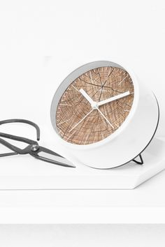 Structure White Jr. Alarm Clock by Cloudnola | From Cloudnola.me