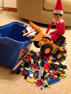 Tidying up the lego
