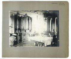 Wnętrze willi Schielów przy ul. Grzybowskiej wWarszawie, fot. zbiory Edwarda Schiele
