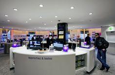 ERCO - Découvrir la lumière - Shop - Flagship store Sony Style, Paris