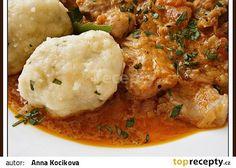 Krupicové noky Czech Recipes, Ethnic Recipes, Dumplings, Gnocchi, Bon Appetit, Mashed Potatoes, Side Dishes, Curry, Menu