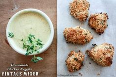 Recipe for homemade chicken nuggets is all natural, using real ingredients, and makes for a meal that everyone in the family will enjoy.