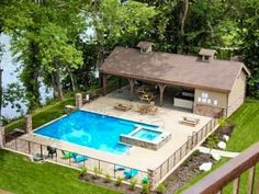 Relax & Entertain at Your Lakefront Resort Home W/ Pool & Spa! Beautiful lakefront home with pool and spa. Perfect for family reunions or romantic getaways.