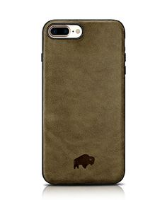 Burkley Ultimate Snap-on Stand Case for Apple iPhone 7 in Antique Camel Leather