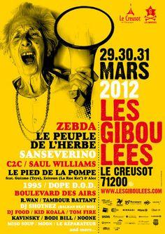 Photos affiche concert festival