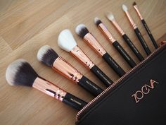 Zoeva Makeup brushes by greyish