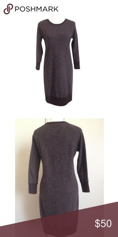 🌷 SALE! 🌷 Rag & Bone | Cashmere Sweater Dress Wine and grey cashmere sweater dress by Rag & Bone. 3/4 sleeves and sooo soft. Pair with leggings and chic booties for a perfect transition outfit between seasons. Excellent condition. rag & bone Dresses Mini