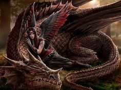 Amazing dragon fantasy art featuring hot girls, usually friends of the mythical creatures. Check out this amazing gallery of Girls and Dragons featuring hot girls friends with these mythical creatures. Dark Fantasy Art, Fantasy Artwork, Fantasy Women, Dragon Medieval, Dragon Sketch, Dragon Artwork, Dragon Pictures, Pictures Of Dragons, Mythological Creatures