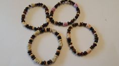 Child's wooden surfer style bracelet with skulls - The Supermums Craft Fair