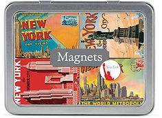 Cavallini New York City Magnets - The Paper Source