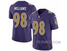http://www.yesnike.com/big-discount-66-off-mens-nike-baltimore-ravens-98-brandon-williams-limited-purple-rush-nfl-jersey.html BIG DISCOUNT ! 66% OFF ! MEN'S NIKE BALTIMORE RAVENS #98 BRANDON WILLIAMS LIMITED PURPLE RUSH NFL JERSEY Only $26.00 , Free Shipping!
