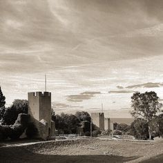 Visby ringwall #visby #gotland #sweden #wall #toned #bw #tweaked