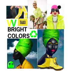 """w BRIGHT COLORS""  on Polyvore"