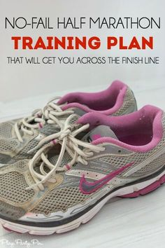 This printable half marathon training plan is perfect for your first or even 10th marathon and full of great half marathon training for beginners tips.