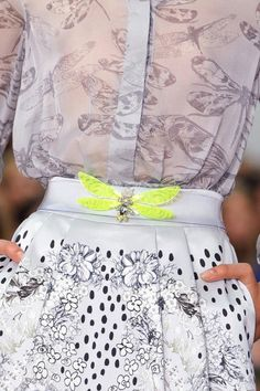 Three Cool Cats Blog:  http://www.shopthreecoolcats.com/blog/the-top-10-coolest-fashion-blogs-to-follow/    (Source: thecut)  #graphic  #print  #highfashion  #black and white  #neon  #flowers  #butterfly  #skirt  #blouse  #trend