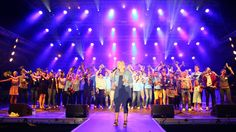 Das ganze Team von Antenne Niedersachsen verabschiedet sich nach einem tollen STARS for FREE 2014. Alle Fotos auf http://starsforfree.antenne.com/