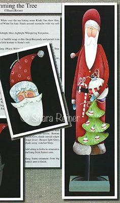 Sharas Funky Folk Art Christmas