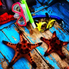 Our first starfish :) #Belitung
