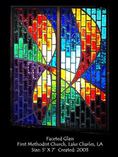 Church window by Frank Thompson Studio.