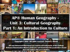 AP Human Geography Unit 3 Cultural