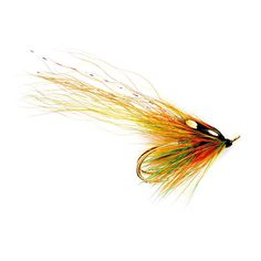 Flamethrower Highlander - Salar Double. A classic Salmon Pattern dressed on a double hook for enhanced hooking ability and improved action. TL, AOS Fly Fishing Team