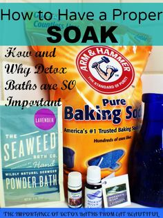 How to Take a Detox Bath, a.k.a. Why YOU should be taking more baths! - Eat Beautiful