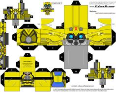 Cubee - Bumblebee 1 Movie by ~CyberDrone on deviantART