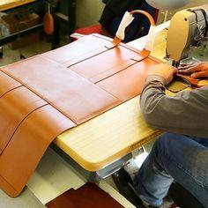 手工皮具设计师 Frank clegg 创作过程   showbagnow
