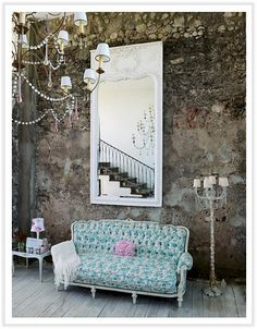 """Just enough """"dirty"""" to offset the shabby chic"""