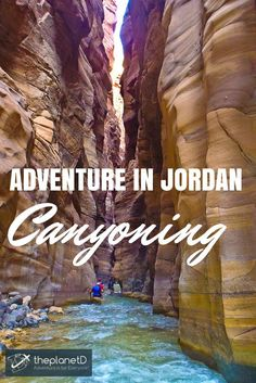 Adventure Trekking through the lowest nature reserve in the world: The Wadi Mujib gorge in Jordan | The Planet D: Adventure Travel Blog: