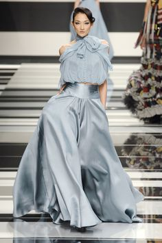 Elie Saab at Paris Fashion Week Fall 2008 - Runway Photos
