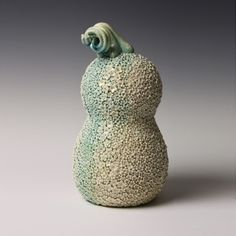 Kate Malone: A Porcelain Daisy Meadow Gourd, 2013