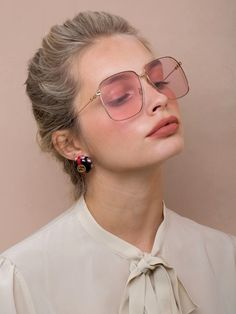 sunglasses outfit Sunglass season will be here before you know it. And for spring-summer Luisa Via Roma spotlights designer eyewear trends. From tiny sunglasses to crystal embellishments and logo motifs, these shades will upgrade any outfit.
