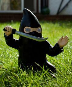 Look at this #zulilyfind! Solar Power Ninja Gnome #zulilyfinds