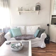 couch#sofa#schlafsofa#grau#mint#cozyhone#houseno43#blogger ...