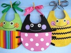 Lots of cute baby bib ideas (and other sewing stuff).