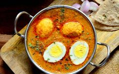 Dimer Malai Curry Recipe (Bengali Style Egg Curry In Coconut Milk)