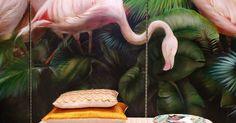 Goosebumps guaranteed at Salon Residence   Design, Murals and I love