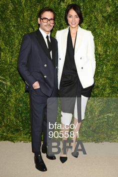 Antonio Azzuolo, Sandrine Holt at 2013 CFDA VOGUE Fashion Fund Awards. #BFAnyc