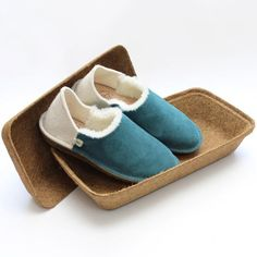 Best gifts made from natural origins. Po-zu chooses to use biodegradable, luxury natural materials for its shoes, like thesePeasey Aqua shoes, which are designed to be loved and to last, with their award-winning biodegradable coconut box that can be used for seed planters. Coconut-husk coir, British wool tweed and chemical-free leather are just some of the natural materials the company crafts its kicks with.