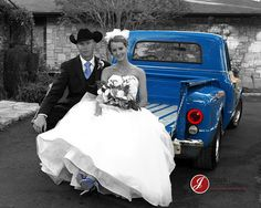 Blue truck Picture! Kinda fun to find yourself on pinterest :-)