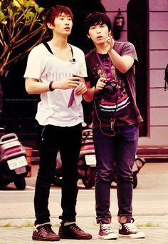 Eunhyuk & sungmin