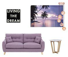 """Purple"" by jessicamaraea on Polyvore featuring interior, interiors, interior design, home, home decor, interior decorating, Dot & Bo and Tom Dixon"