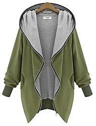 WeiMeiJia® Women's Hoodie All Matching Zipper Ove... – USD $ 19.99