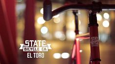 """A quick look at the State Bicycle Co. - El Toro model.    For more info visit: StateBicycle.com    Music: Radiohead - """"Bloom (Jamie xx Rework Part 3)"""""""