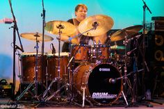 Keith Carlock. You've heard him behind the kit for Steely Dan, Sting, John Mayer, and many others